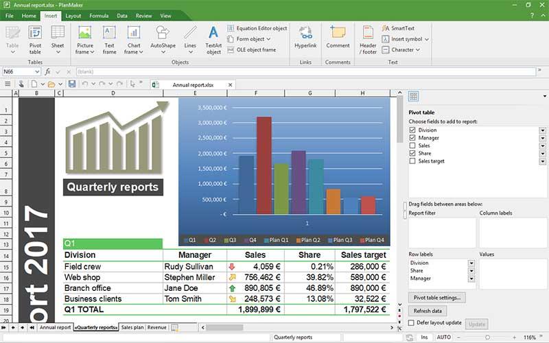 รีวิวซอฟต์แวร์ FreeOffice
